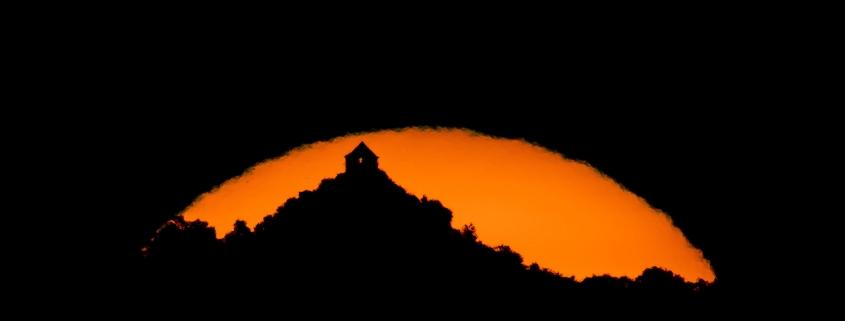 Salgói vár: meseszerű napfelkelte az MTI fotósának képein
