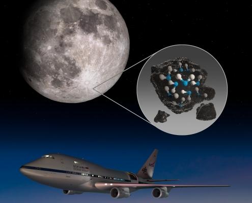 A Hold napsütötte részén talált vizet a NASA