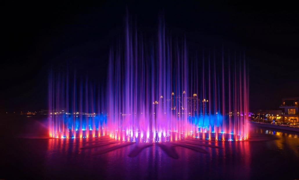 Dubaji világrekord szökőkút